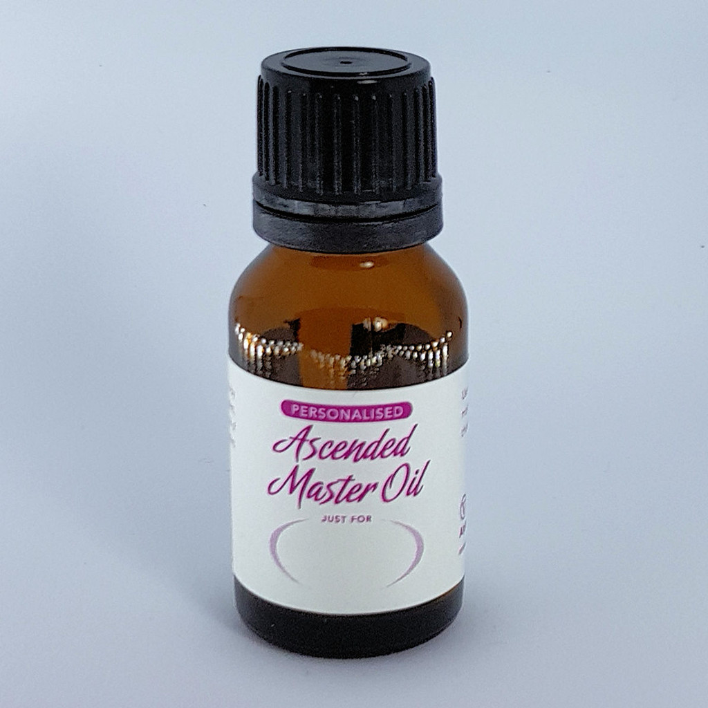 Personalised Ascended Master Oil just for You