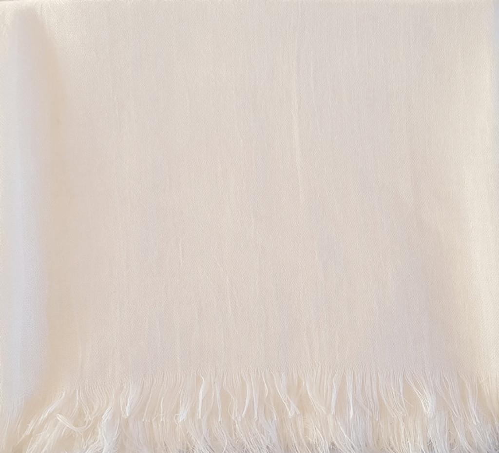 Oversize Healing Shawl - off-white