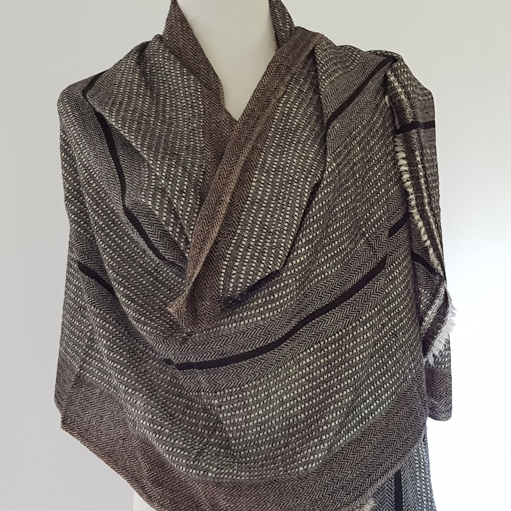 Healing Shawl - dotted lines