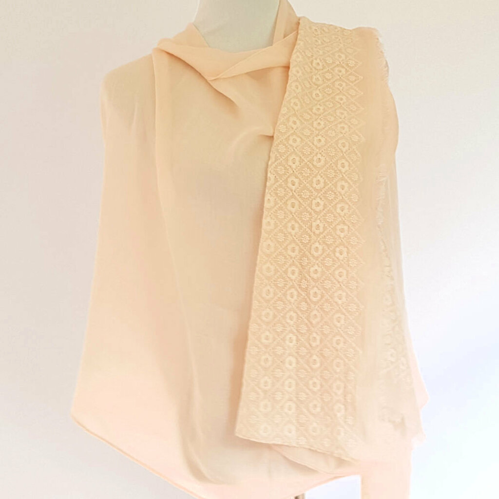 Healing Shawl - blush
