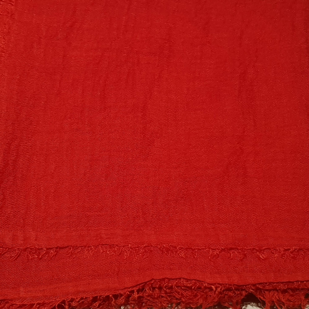 Oversize Healing Shawl - red
