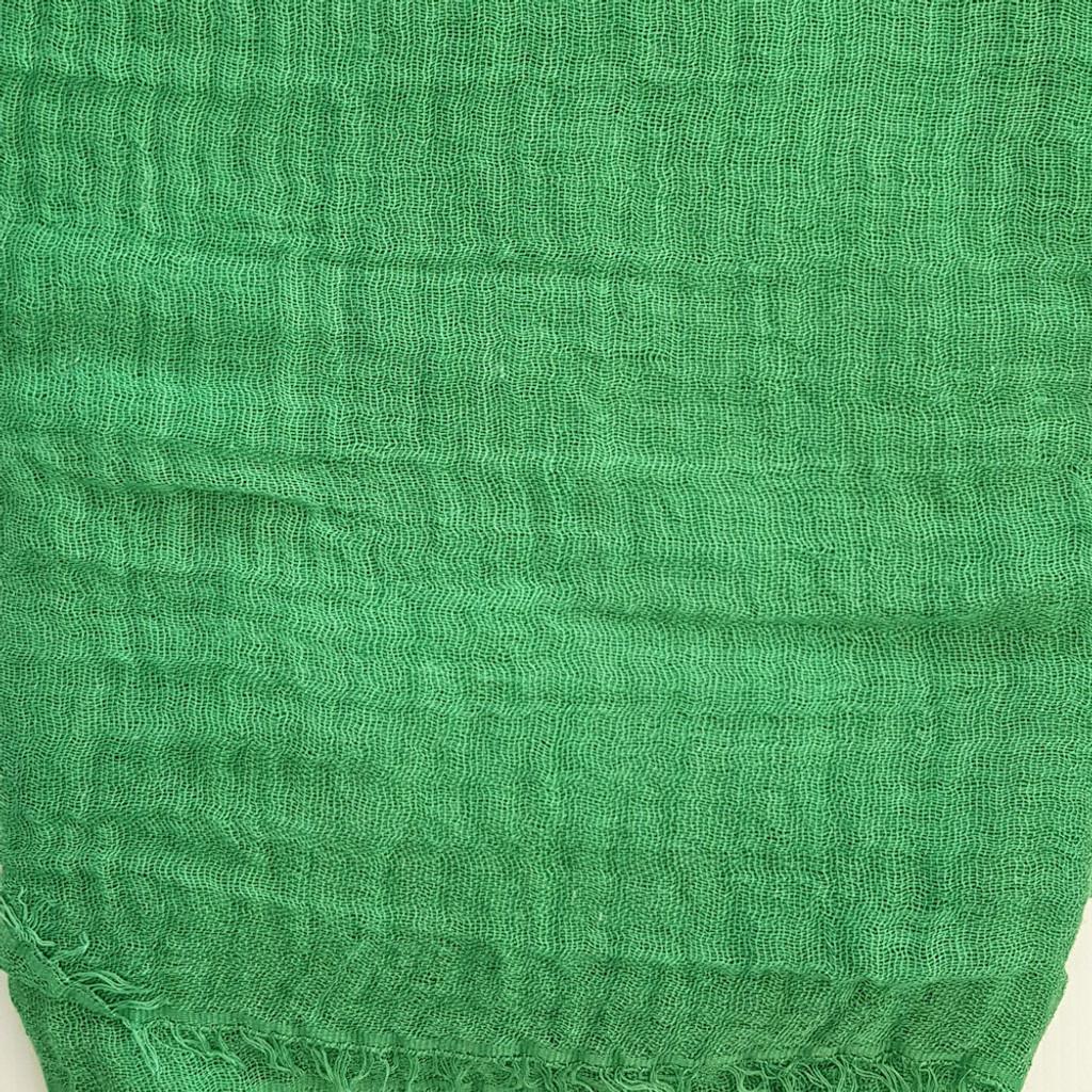 Oversize Healing Shawl - Shamrock green