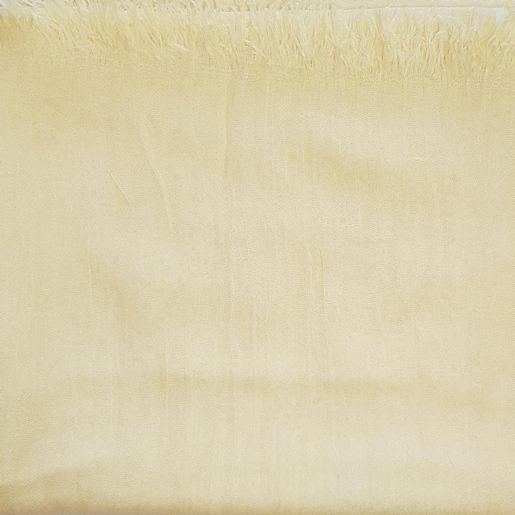 Oversize Healing Shawl - pale yellow
