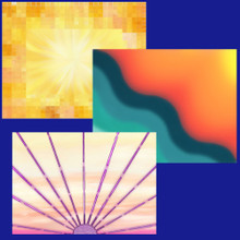 A Set of 9 Deva Portal Cards