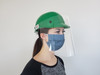 Protective Face Shield for use with Hard Hats (Case of 100)