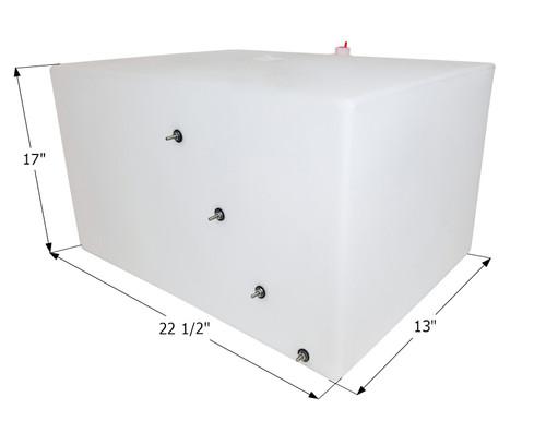 Jayco Fresh Water Tank WT3616 - 20 Gal., 0215080