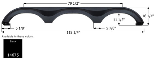 Grand Design 5th Wheel Triple Axle Fender Skirt FS4675