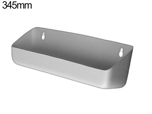 Tilt out tray - 345mm - Pewter Grey