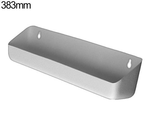 Tilt out tray - 383mm - Pewter Grey