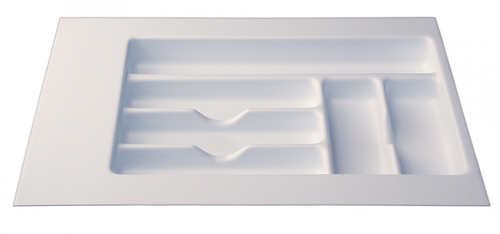 """Cutlery Tray 11""""- 14"""" - White"""