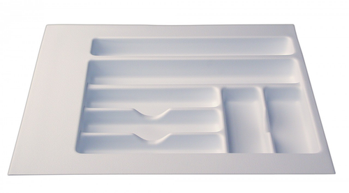 "Cutlery Tray 14"" - 18"" - White"