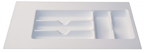 """Cutlery Tray 8"""" - 11"""" - White"""