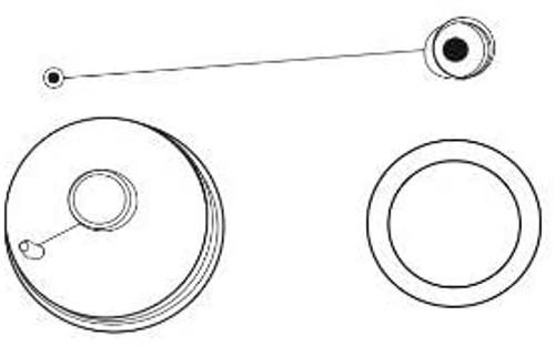 Macerator Hose Nozzle Drip Cap & Gasket