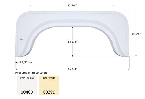 Single Fender Skirt FS350