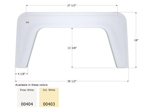 Single Fender Skirt FS377