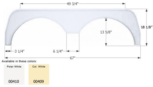 Tandem Fender Skirt FS500