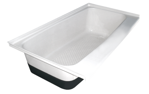 RV Bath Tub Right Hand Drain TU600RH
