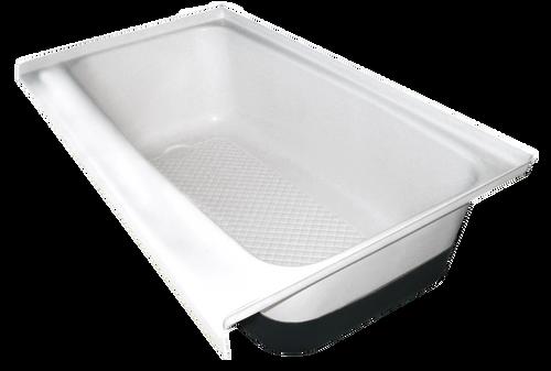 RV Bath Tub Left Hand Drain TU700LH