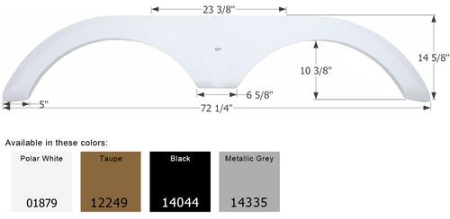 Icon 12185 Fender