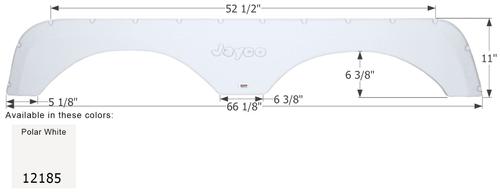 Jayco 5th Wheel Travel Trailer Fender Skirt FS2185