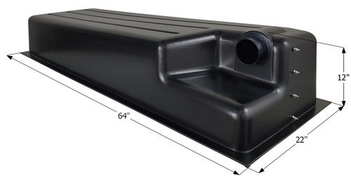 Holding Tank Recessed Drain HT512RE
