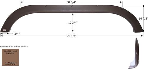 Evergreen Tandem Fender Skirt FS2588