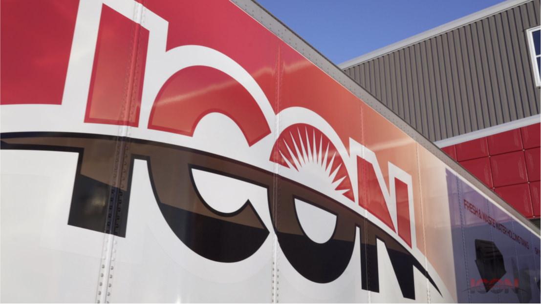 IconDirect Shipping Trailer