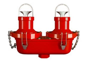 """H & P Horizon L-810 LED 95-277VAC Eje doble lateral 1 """"(45-1007-001)"""