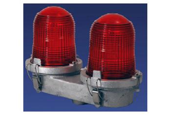 Intensidad Baja Dual Incandescente L810 Iluminación de Obstrucción - Flash Tech