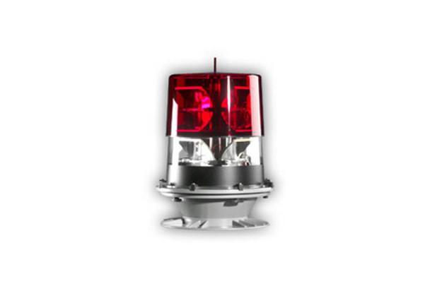 Hughey & Phillips Flash de Guardia Estroboscopio Rojo / Blanco de Intensidad Media - FG3000B-004