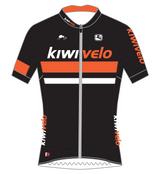 Kiwivelo Giordana FR-C Jersey Orange w/Reflective Pocket