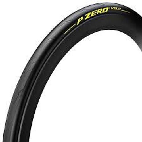 Pirelli P Zero Velo 700x25c Black - Limited Yellow edition
