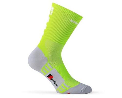Giordana FR-C Tall Fluro/Black Socks