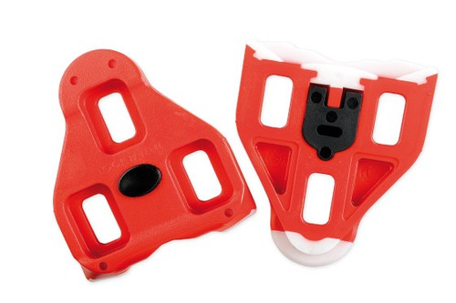 Look Delta Red Cleats with Screws
