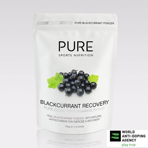 Pure Blackcurrant Recovery Pouch 200g