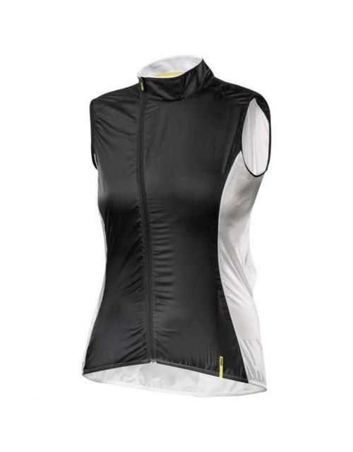 Mavic Cosmic Pro Womens Vest - Black/Cane - L
