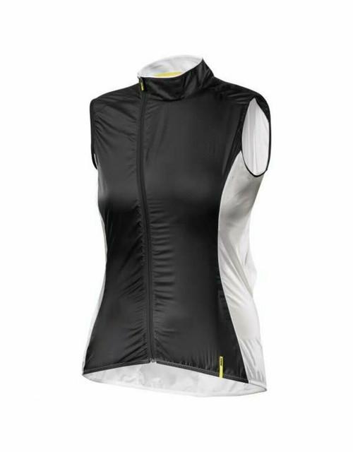 Mavic Cosmic Pro Womens Jacket - Black/Cane - L