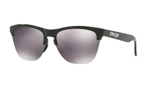 Oakley Frogskins Polished Black w/ Grey Lens