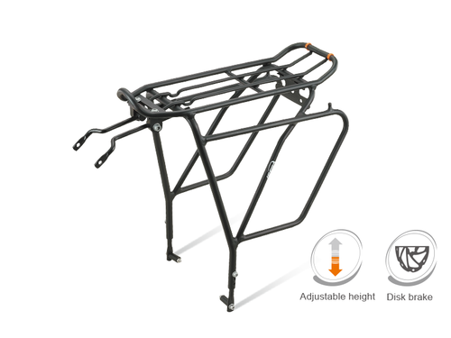 Ibera PakRak Touring Bike Carrier Plus+ Disc