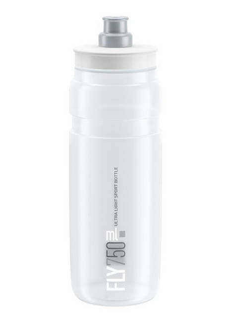 Elite Fly Ultralight Bottle 750ml - Clear/Silver