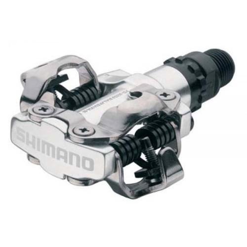 Shimano M520 SPD Pedals Silver