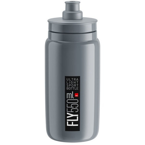 Elite Fly Ultralight Bottle 550ml - Grey/Black