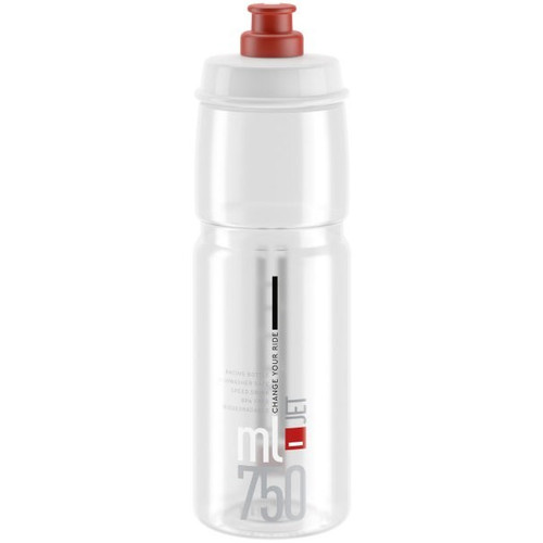 Elite Jet Bottle 750ml - Clear/Red