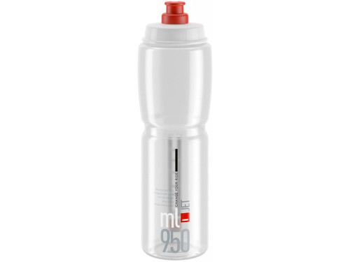 Elite Jet Bottle 950ml - Clear/Red