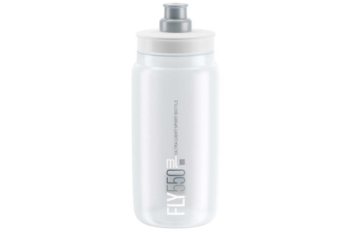 Elite Fly Ultralight Bottle 550ml - Clear/Silver
