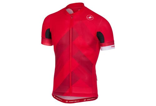 Castelli Free Aero Race 4.1 Jersey Red