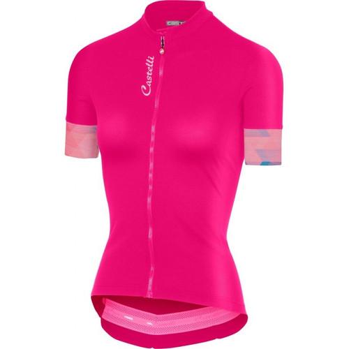 Castelli Anima 2 Womens Jersey Pink