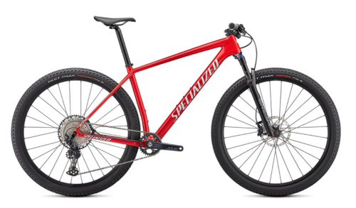 Specialized 2021 Epic Hardtail Comp Red/White Silver