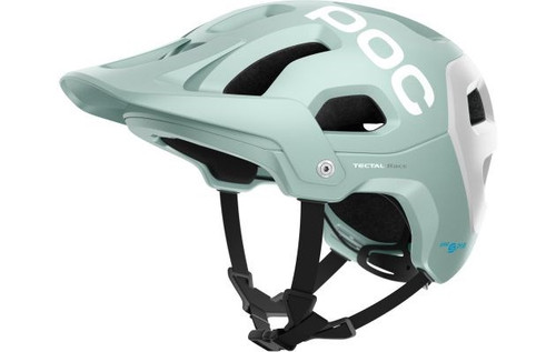 Poc Tectal Race Spin Helmet - Apophyllite Green/Hydrogen White Matt