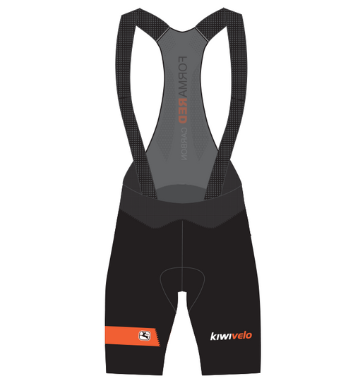 Kiwivelo Giordana Vero Pro Bibshort Orange